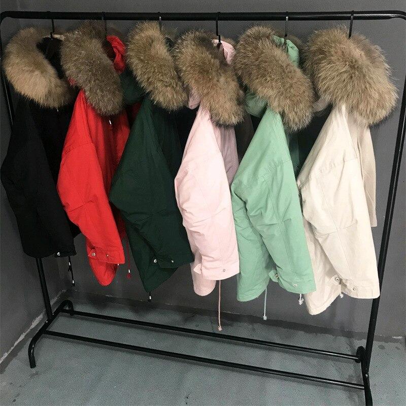 Surdimensionné Manteaux À Capuchon Col De Fourrure Veste D'hiver Femmes Épais Coton Veste Militaire Manteau Chaqueta Mujer BF Style Long Parka C4802