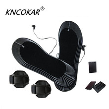 KNCOKAR The Carbon Fiber Electric Heating Power Supply Heating Insoles Insoles 4.5 V Battery Box Bind Heating Insoles x1055