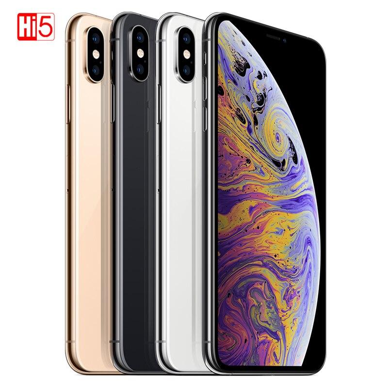 Original Apple iPhone XS Max 64gb 256gb Face ID 6 5 inch OLED Big Screen 4G
