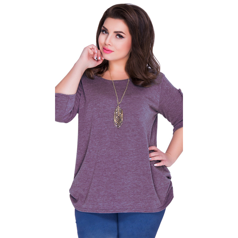 2018 Best Selling Wome Blouses Maxi Oversized Sexy Blouses Tops 6XL Plus Size Shirts Tops Solid Color Casual Straight Female