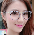 Women's Myopia Eyeglasses Frame Vintage Round Optical Eye Glasses With Lens Detachable Eyewear Goggles Glass Frames