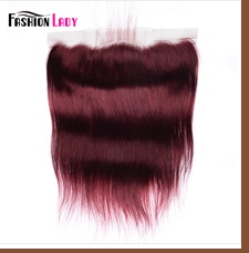 HTB1d SddBGE3KVjSZFhq6AkaFXae Fashion Lady Pre-Colored Ombre Brazilian Hair 3 Bundles With Lace Closure 1B/ 99J Straight Weave Human Hair Bundle Pack Non-Remy
