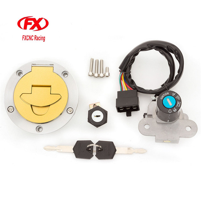 9af8eb151c03 US $44.48 13% OFF|FX Motorcycle Ignition Switch Fuel Gas Cap lock+Ignition  Switch lock+Seat lock+Keys For Ducati ST2 916 996 998 748 Monster620-in ...
