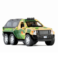 Military armored vehicle open door military vehicle Children's sound and light alloy car model toy W118