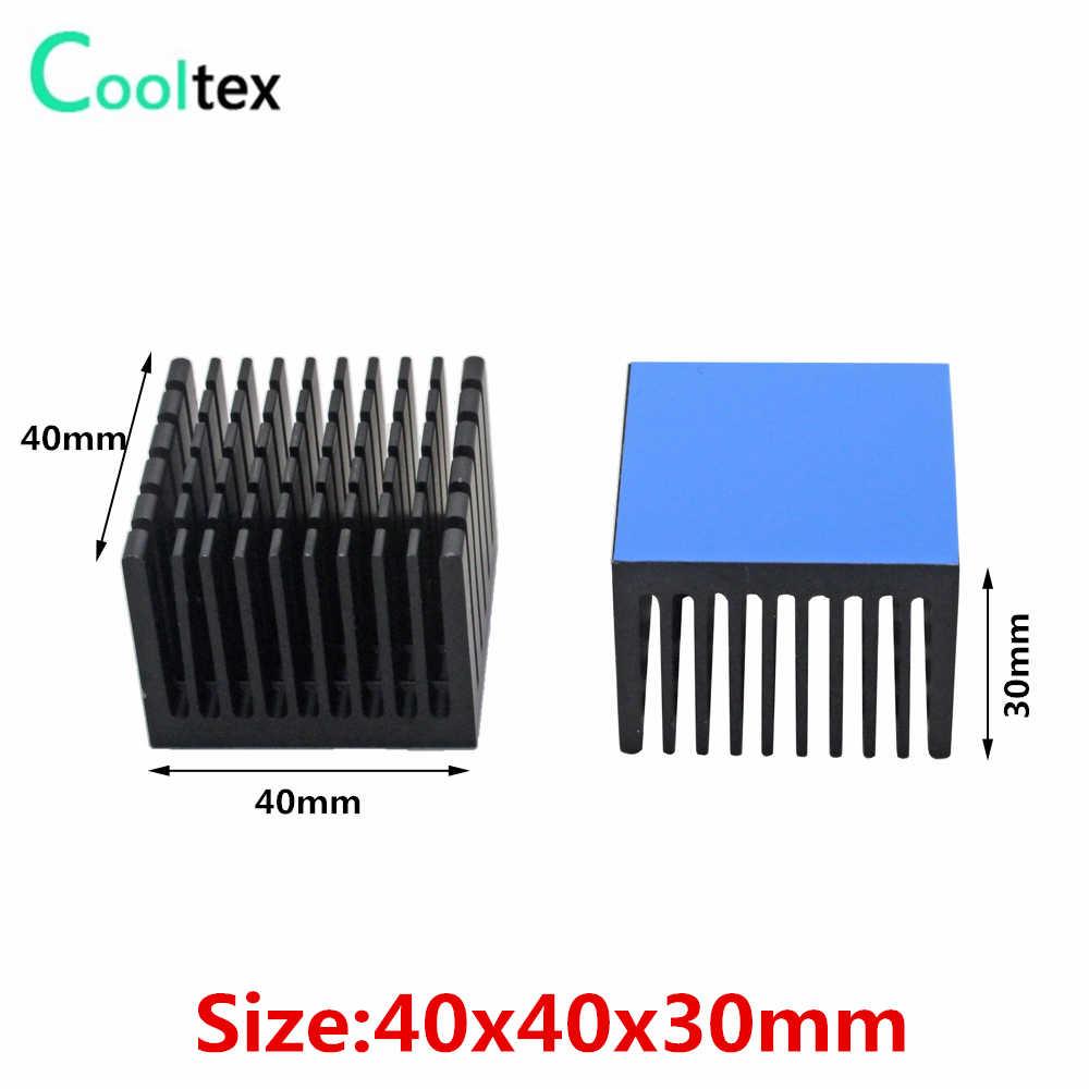 7 Model Aluminium Heatsink Heat Sink Radiator Pendingin Cooler untuk Elektronik Chip IC LED Komputer dengan Thermal Pita Konduktif