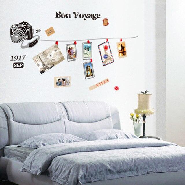 Grote Maat PVC Muurstickers Creatieve Fotowand Landschap Home Decor ...