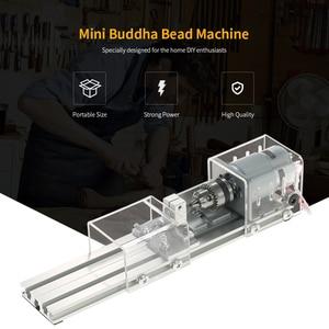 Image 4 - 100W DIY Lathe Machine Mini Lathe Mini Torno Milling Machine Woodworking Wood Working lathe Grinding Polishing Drill Tool