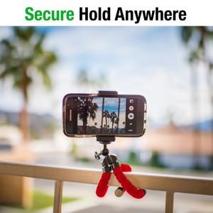 Image 4 - DUSZAKE P16 Flexible Gorillapod Tripod For Phone Bluetooth Mini Tripod for iPhone Phone Tripod with Holder Remote Contral