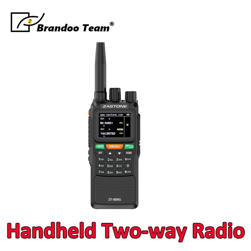 10 W 3000 Mah Vhf Radio 134-174 Mhz Uhf 400-520 Mhz 999ch Radio Transceiver Tragbare Zwei Weg Radio