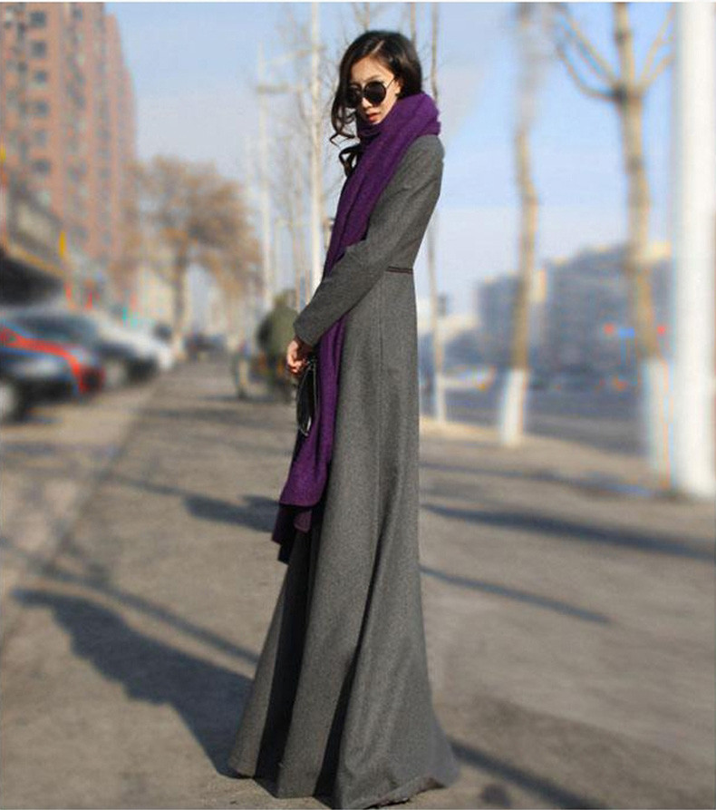 casaco feminino longo inverno casaco com zíper separável jaqueta manteau