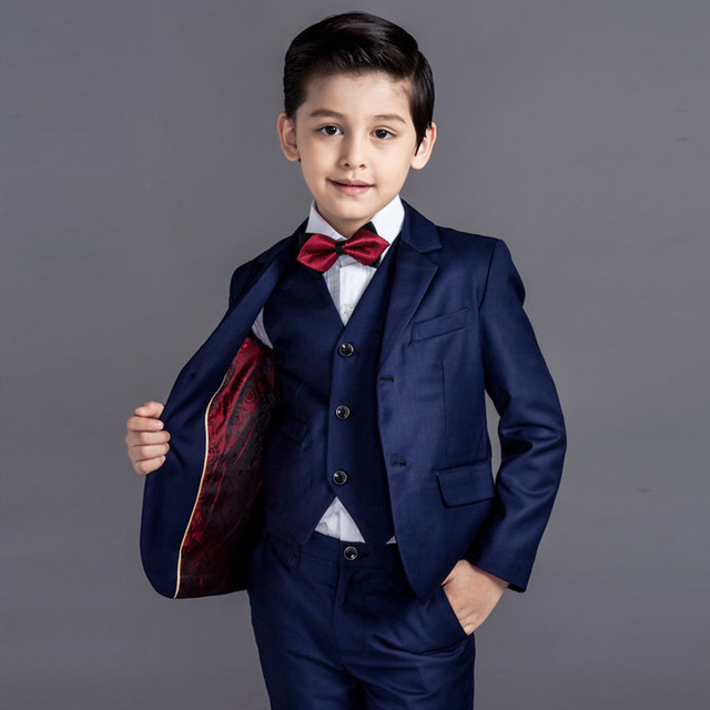 Boys Blazers kids Boys Suits For Weddings Children Clothing Set Prom ...