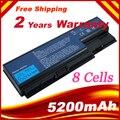 New 8 células 5200 mAh bateria para Acer Aspire AS07B31 AS07B41 5310 5315 5730 5230 Aspire 8930 8930 G Aspire 7738 7738 G