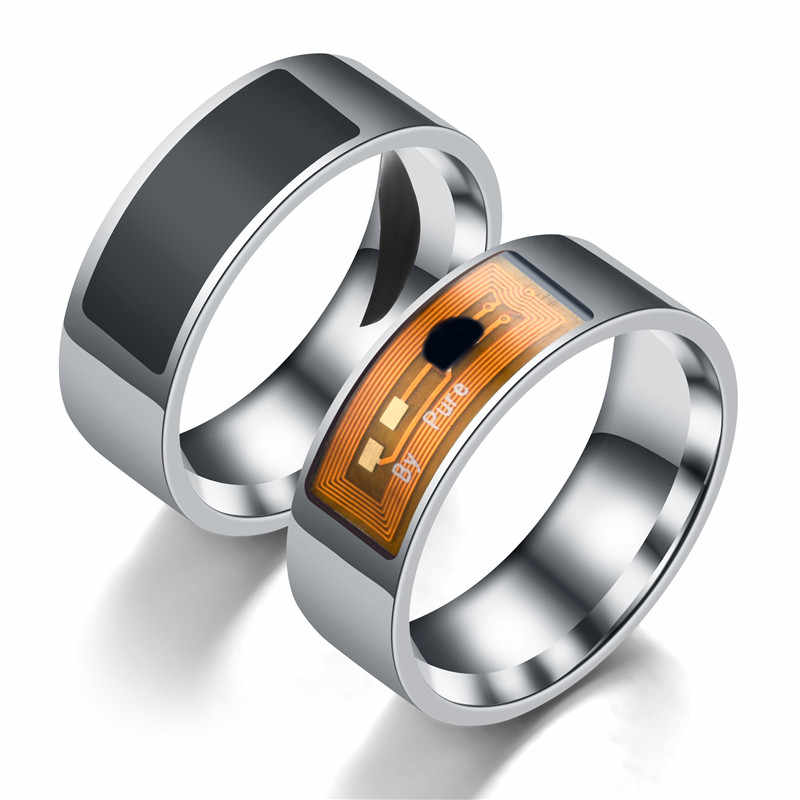 NFC Smart Ring Multifunctionele Identificatiekaart Waterdichte Magic Smart Vinger Digitale Ring voor Android Windows NFC Mobil