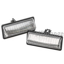 2Pcs LED Car Number License Plate Lights for Nissan TEANA TIDDA NV350 Sunny Sylphy Sentra Quest MURANO Altima JX35 1 pair