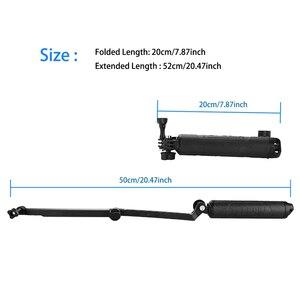 Image 2 - TELESIN For Multi fonction Accessories Floating Hand Grip&3 Way Grip Arm for GoPro Hero7 6 5 4 3 5S SJCAM EKEN XiaomiYI for DJI