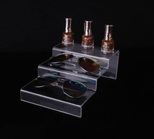 Multifunction clear Acrylic Makeup Organizer Nail Polish Display Cosmetic Stand Jewelry Toys Action Figure Glasses holder Rack 7 tiers clear makeup cosmetic acrylic organizer lipstick jewelry display stand holder nail polish rack 31x31x25cm