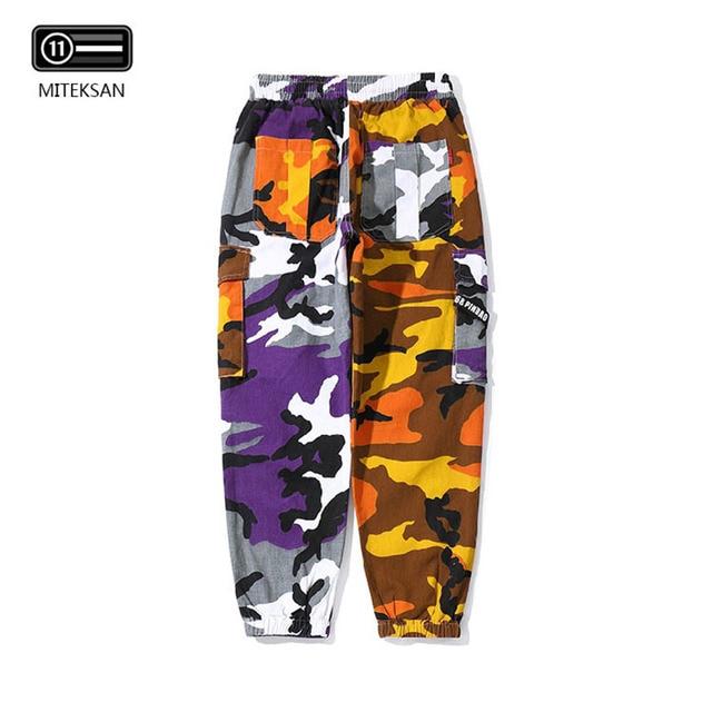 New Joggers Cargo Pants Men Streetwear Camouflage Fashions Hip Hip Korean Trousers Casual Plus Size Cp Pants Pantalones Hombre 37
