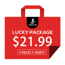 Pioneer camp masculino qualidade 100% puro algodão t camisas 3 peças no pacote sorte produtos enviar aleatoriamente