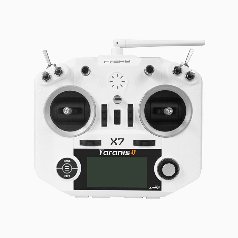 Original FrSky TARANIS Q X7 2.4G ACCST 16CH Telemetry Radio Transmitter Open TX for RC Quadcopter Helicopter Airplane image