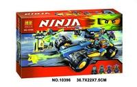 Free Shipping Bela Ninja Jay Walker Un Gemido de Juguete Building Block Set Jay Bansha Ghurka