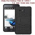 Противоударный Heavy Duty Резина Hard Case Cover Для Samsung Galaxy Tab 7.0 2016 SM-T280 Падение Доказательство Tablet Shell Для T280 T285 ручка