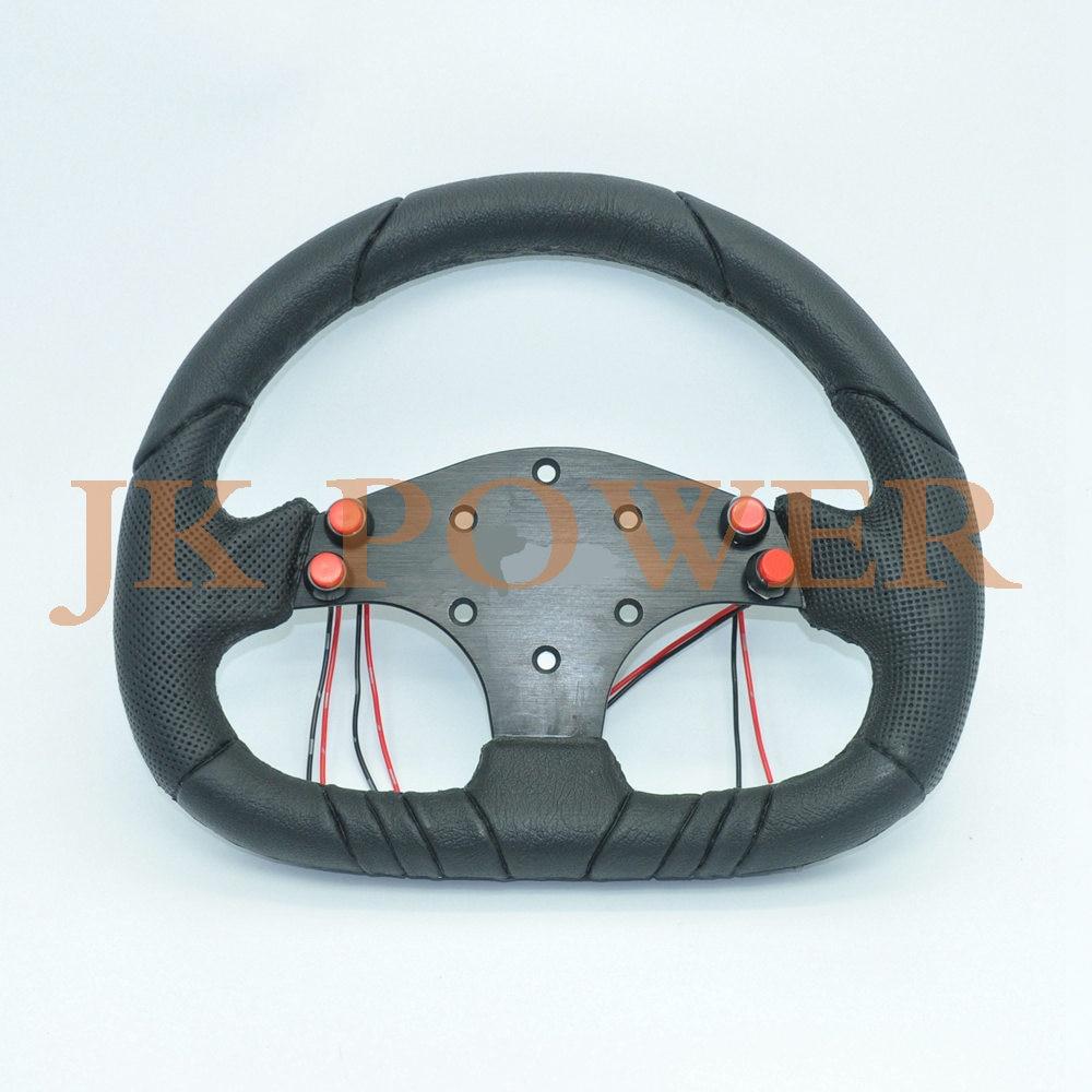 Vauxhall Astra Hatchback Black Chunky Sport Grip Steering Wheel Cover Glove 37cm
