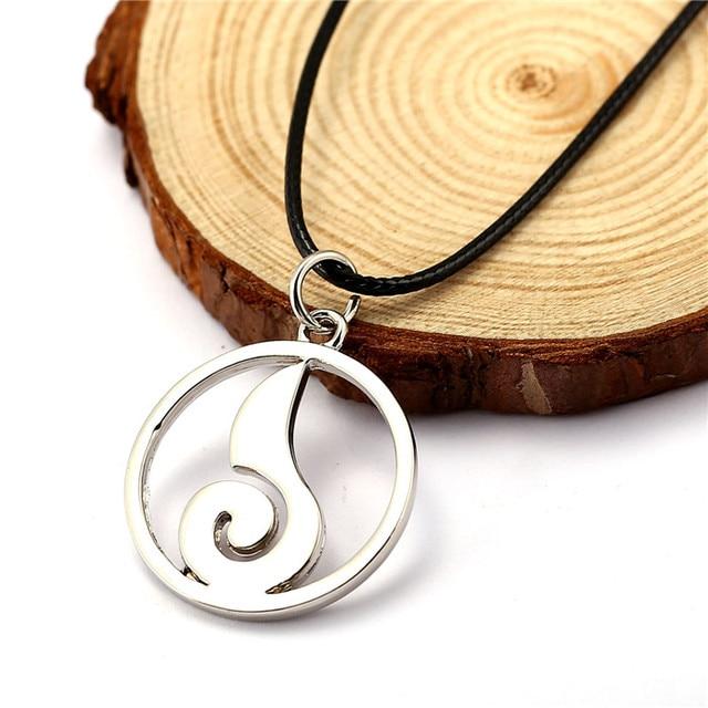 Naruto Uzumaki Silver Plated Pendant necklace