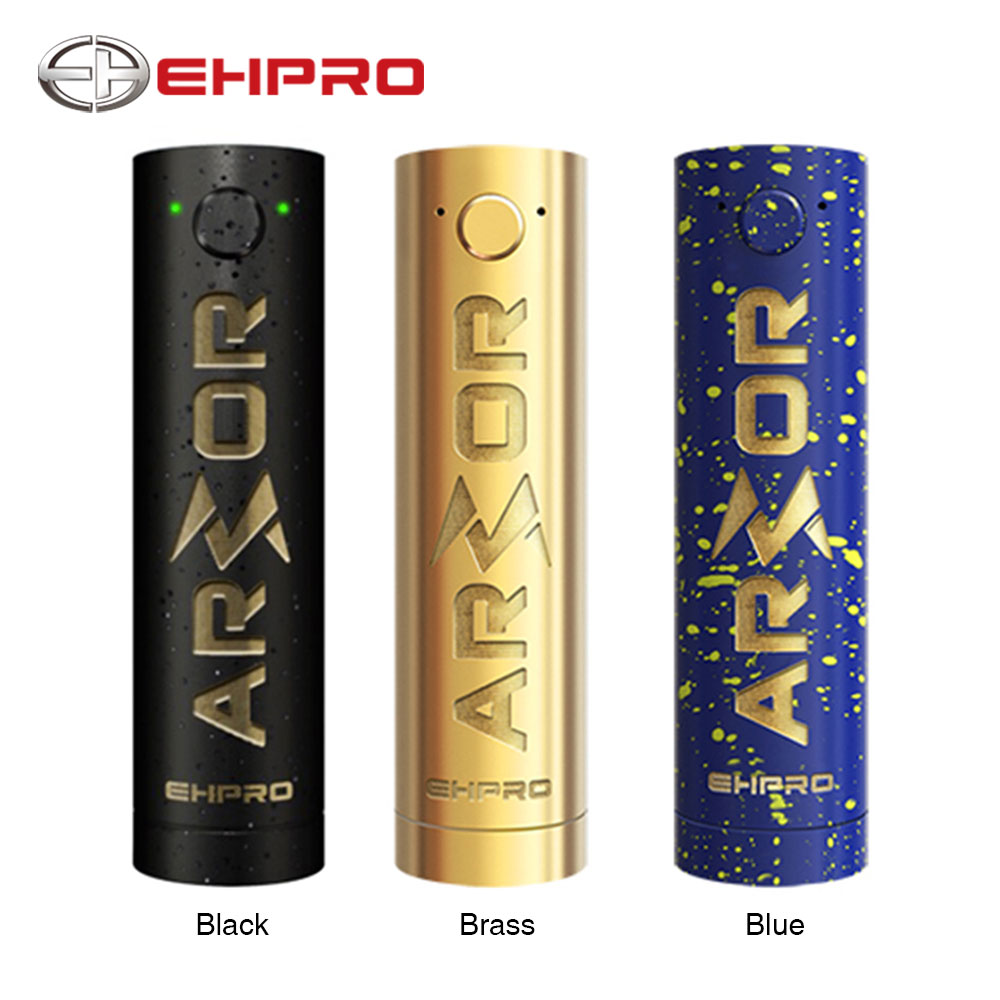 New Original Ehpro Armor Prime Mechanical Mod with Coil Resistance 0.2ohm - 1.2ohm & LED Battery Life Indicator No Battery Mod ehpro armor prime mod