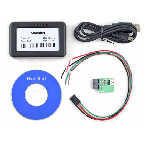 Professional Truck Adblue Emulator 8 in 1 VD400 Adblue v4.1 with NOx sensor Adblue Emulator 8 in 1