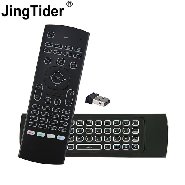 Best Price MX3 2.4G Mini Wireless Keyboard Infrared Remote Control Air Mouse Controller for Smart TV Android TV Box Computer PC Projectors