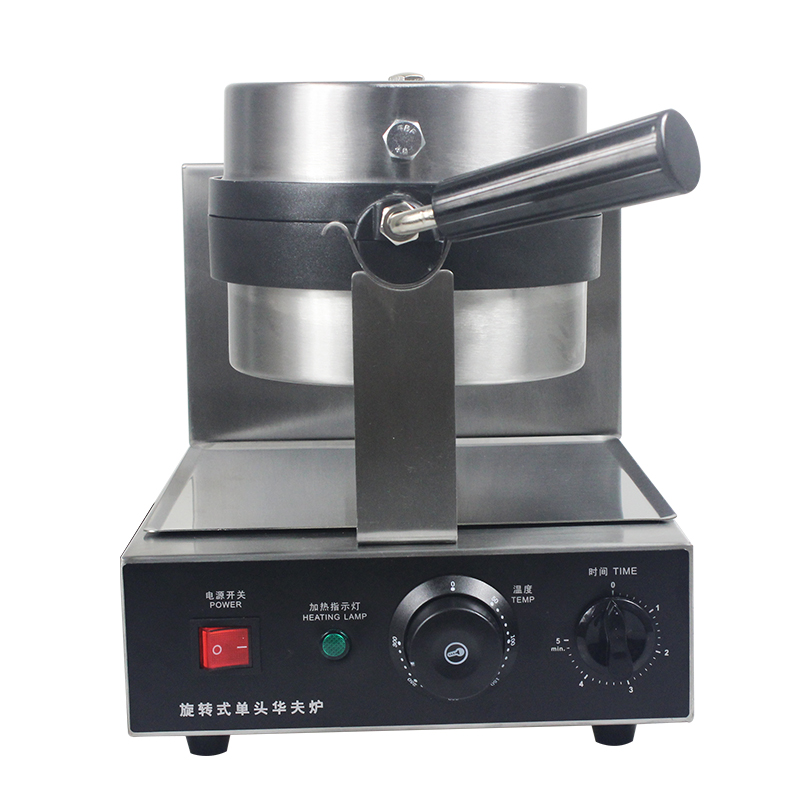 Commercial Electric Rotary Waffle Baker Waffle Making Machine 220V Best