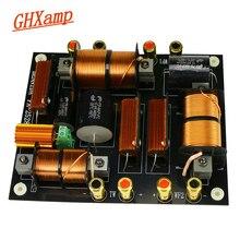 Ghxamp 1500 w agudos + duplo baixo crossover 2200 hz pa2528 alto falante crossover para 12 15 15 18 18 polegada profissional fase alto falante 1 pc