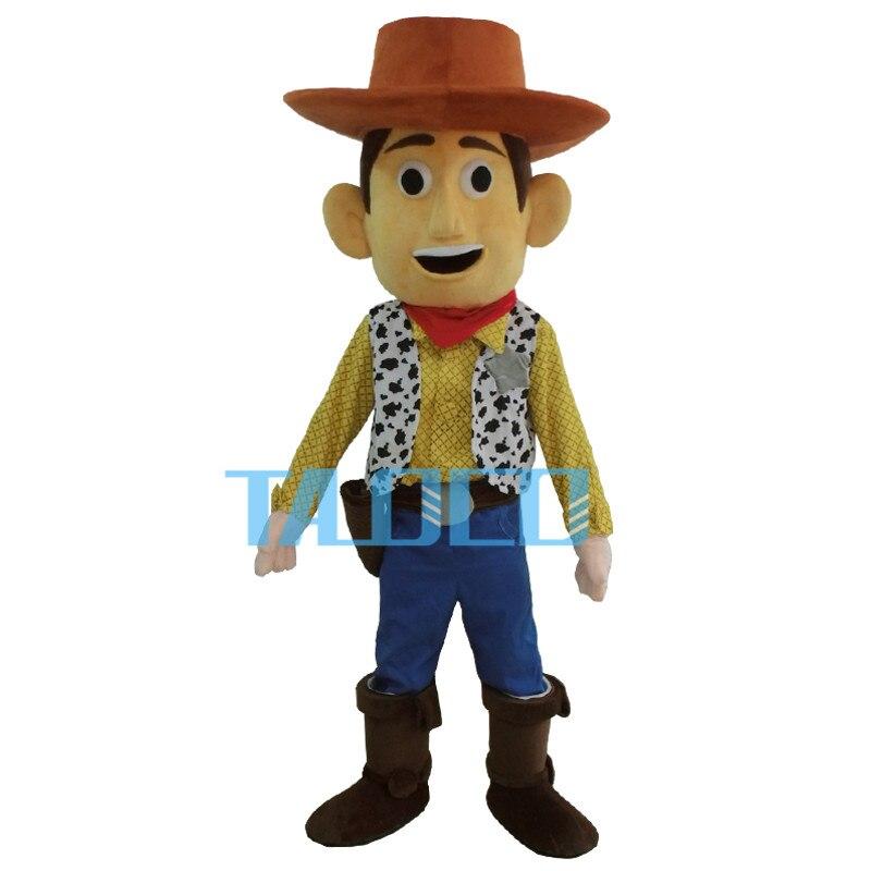 Cowboy Woody mascotte Costume jouet histoire shérif Woody déguisements livraison gratuite