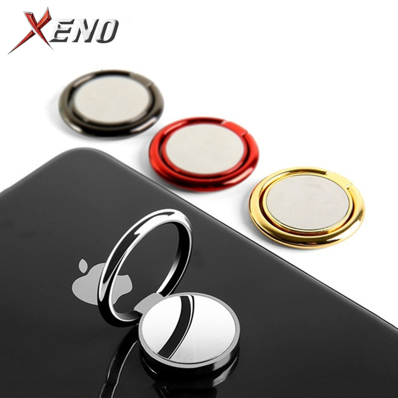 Finger Ring Holder Phone Stand Universal Mobile Phone Holders Stands Metal Mirror Finger Ring Holder For Apple IPhone Samsung S9