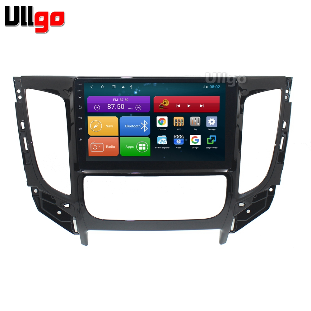 4G+64G Octa Core 9'' Android 8.1 Car DVD GPS for Mitsubishi L200 Triton 2015+ Autoradio GPS Head unit with RDS BT Mirrorlink