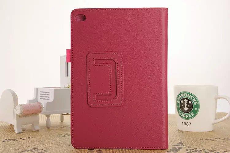 Para Ipad Mini 4 Funda Total Protección Red Flip Stand Funda de piel - Accesorios para tablets - foto 2