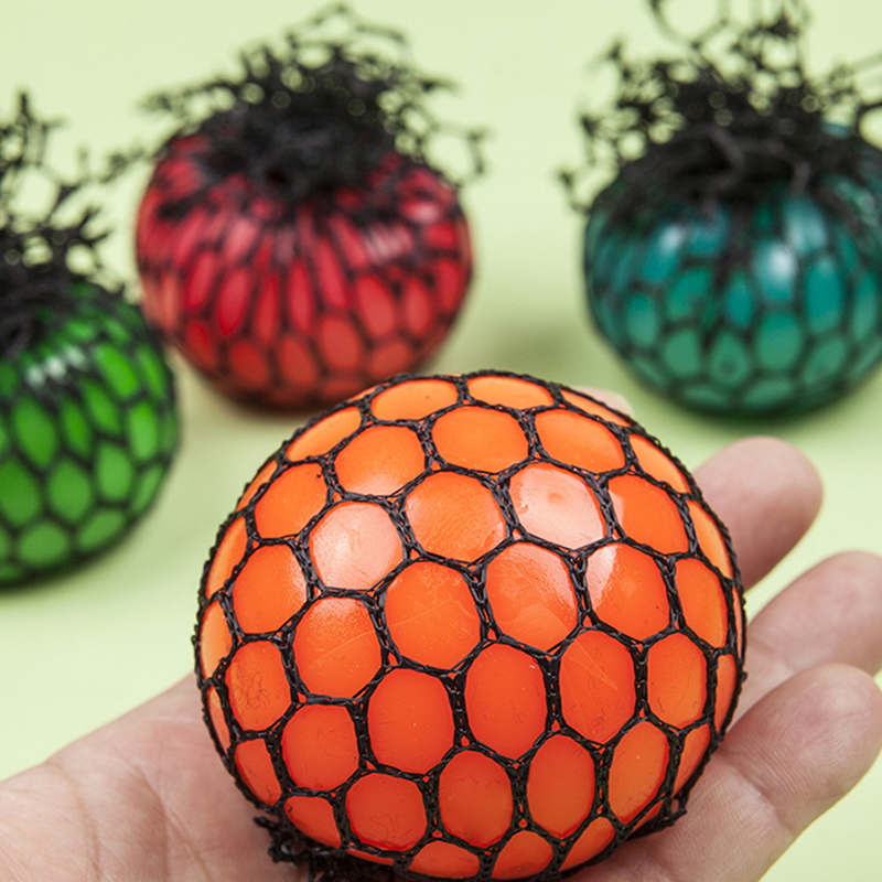 New Anti Stress Ball font b toy b font Fun Grape Venting Balls Squeeze Stresses Reliever