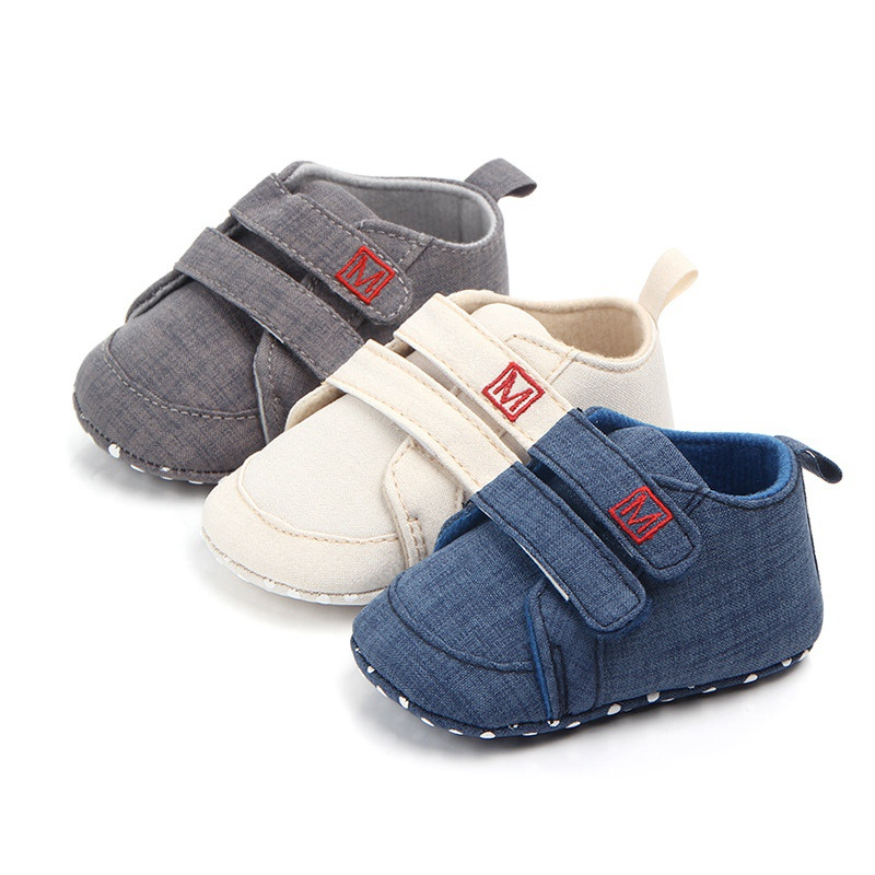 Classic Canvas Baby Shoes Newborn First Walkers Fashion Baby Boys Girls Shoes Cotton Casual Shoes Boys Girls Sneakers