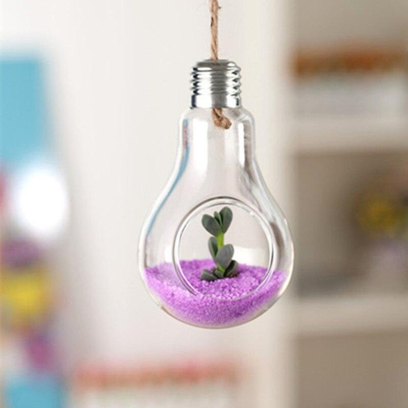 Hanging Lamp Glass Vase