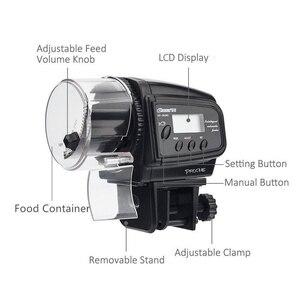 Image 5 - Aquarium 65Ml Automatische Vis Feeder Voor Aquarium Fish Tank Auto Feeders Met Timer Huisdier Voeden Dispenser Lcd Display Vis feeder