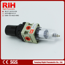 "Right Pneumatic air source treatment air clean unit AW2000-02 filter regulator G1/4"" China"