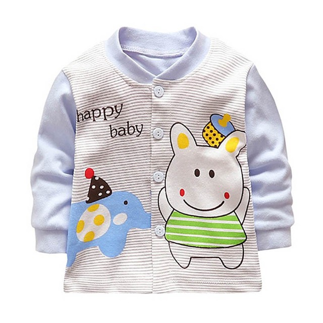 Baby Girls Boys Jacket Spring/Autumn Infant Clothes Long Sleeve Baby Coat Outerwear Toddler Boy Girl Jacket 0-2Y
