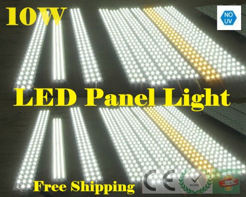AC85-240V 10W Magnetic led panel light,Rectangle led panel for ceiling light which is easy to install Bulb