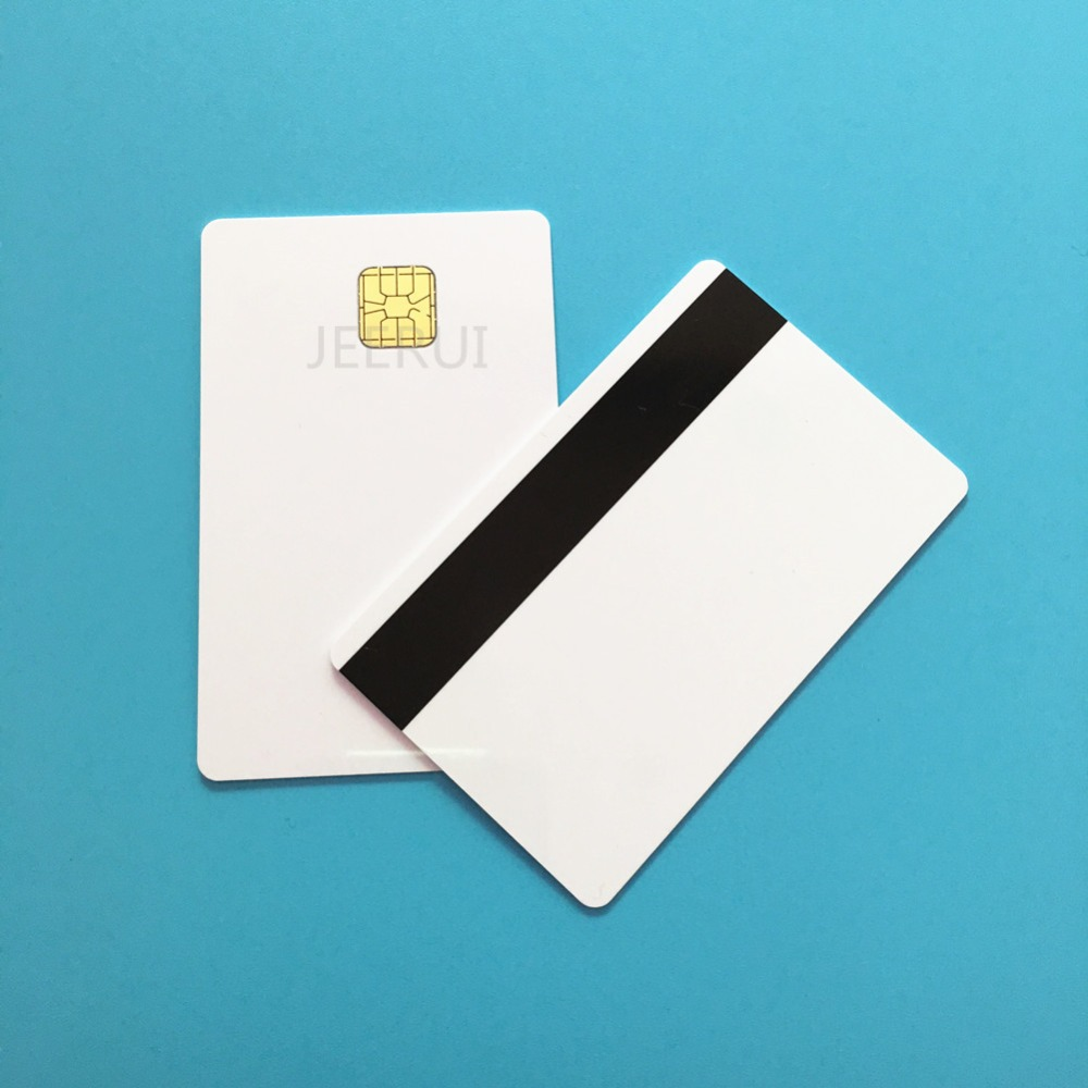 Closeout DealsCredit-Card-Size Contact Blank Magnetic Smart SLE4428 10pcs Hi-Co Stripe 2750OE 4000OE
