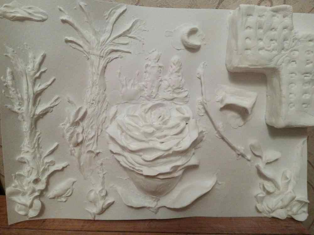 BOHS Playdough Argila Plasticina Cor 1 1Kg, o Ar Seco, para Preschool Arts & Crafts