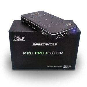 Image 5 - DLP IMK95 جهاز عرض صغير 4K أندرويد 6.0 HDMI USB جهاز عرض محمول 2.4G 5G واي فاي بلوتوث 4.1 السينما المنزلية X2 العارض