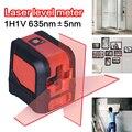 Red Mini Layout de Linha Transversal Laser Laser Horizontal Vertical À Prova de Poeira Medidor de Nível A Laser Laser Vermelho de Alta Qualidade IP54