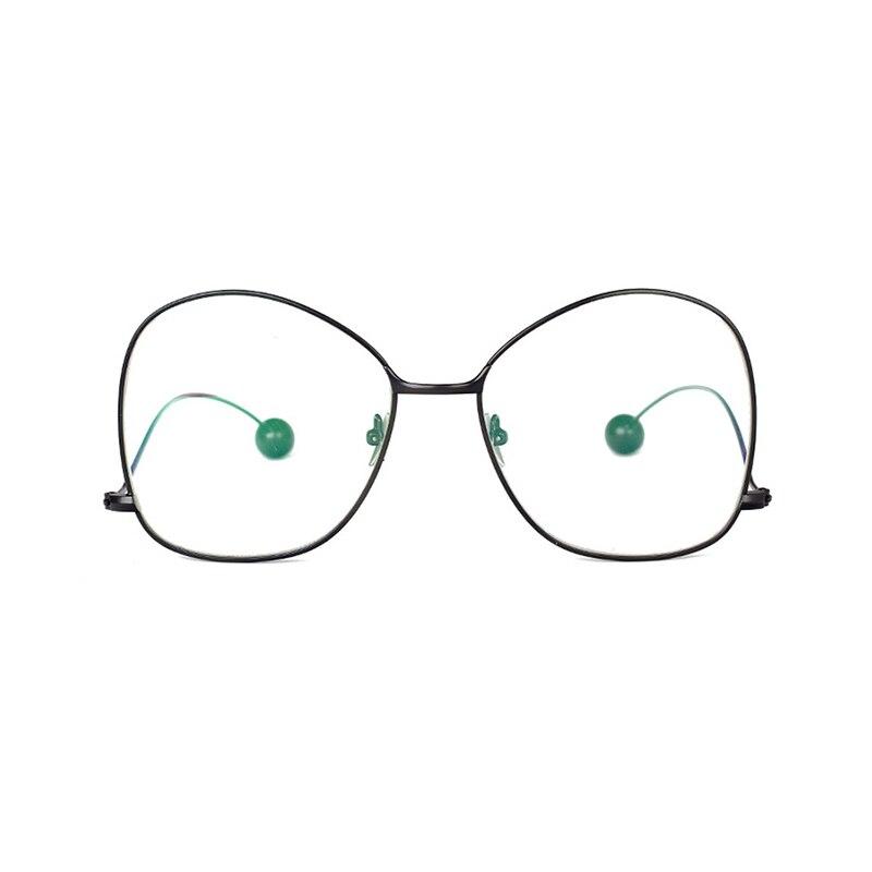 a142febfe1a0fa Iways Nouvelle Fantastique Conception Plaine Lunettes Alliage Durable  lunettes de Soleil Cadre Mode Des Lunettes Décoration de Haute Qualité Pour  La ...