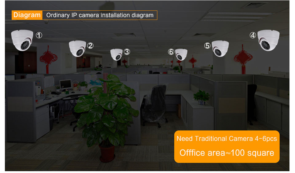 Wistino 960P Wireless IP Camera VR Mini WIFI Camera IR Night Vision Smart Home Security Camera Onvif Monitor Baby Monitor 2 (10)