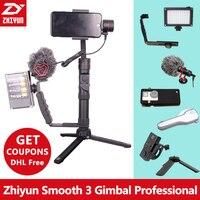 Zhi Yun Zhiyun Smooth 3 Smooth III 3 Axis Handheld Smartphone Gimbal Stabilizer For IPhone X
